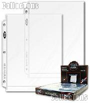 8x10 Photo Page by BCW Pro 8 x 10 Photo Page