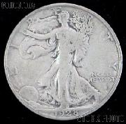 1928-S Walking Liberty Silver Half Dollar Circulated Coin G 4 or Better