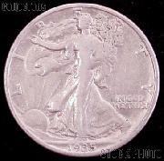 1935 Walking Liberty Silver Half Dollar Circulated Coin G 4 or Better
