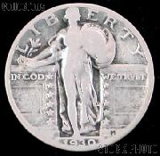 90% Silver Coins Pre 1965 1 Dollar Face Value 4 Different Standing Liberty Silver Quarters