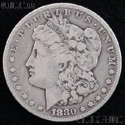 1880 CC (Rev. 78) Morgan Silver Dollar Circulated Coin VG 8 or Better