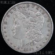 1881 CC Morgan Silver Dollar Circulated Coin VG 8 or Better