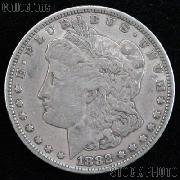 1882 CC Morgan Silver Dollar Circulated Coin VG 8 or Better