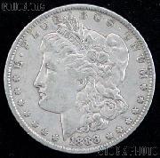 1888 Morgan Silver Dollar Circulated Coin VG 8 or Better