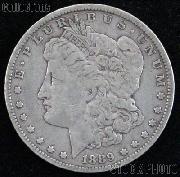 1889 Morgan Silver Dollar Circulated Coin VG 8 or Better