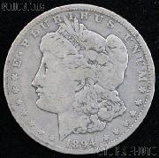 1894-O Morgan Silver Dollar - VG+ Better Date Silver Dollar
