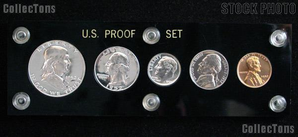 1952 U S Mint Proof Set Rare 5 Coin Set
