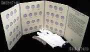 Washington Quarter Set 1932 - 1947 CIRC Washington Silver Quarter Set (43 Coins) w/ Littleton Folder