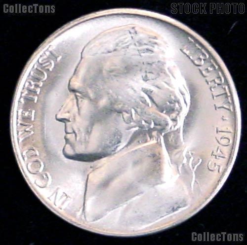 War Nickels Set 1942 -1945 BU Jefferson Silver War Nickel Set (11 Coins)
