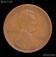1909 Lincoln Wheat Cent  - G+ Condition