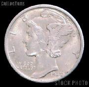 90% Silver Coins Pre 1965 1 Dollar Face Value 10 Different Mercury Silver Dimes