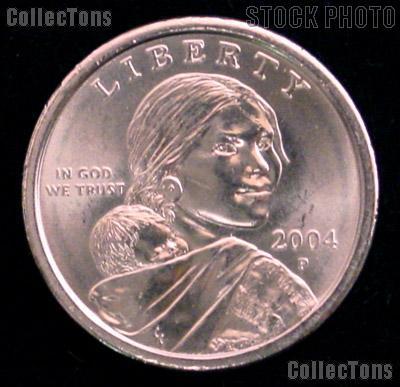 2004-P Sacagawea Dollar BU 2004 Sacagawea SAC Dollar