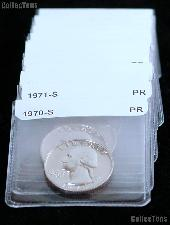 Proof Quarters Coin Starter Set 25 Different Proof Washington Quarters 1968  to Date