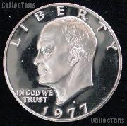 1977-S Eisenhower Dollar Clad GEM Proof 1977 Ike Dollar Proof