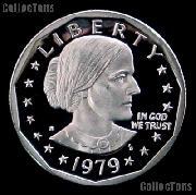 1979-S  Susan B Anthony Dollar Type 1 GEM Proof 1979 SBA Dollar Proof