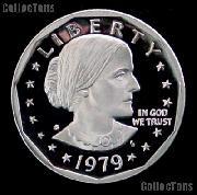 1979-S Susan B Anthony Dollar Type 2 GEM Proof 1979 SBA Dollar Proof