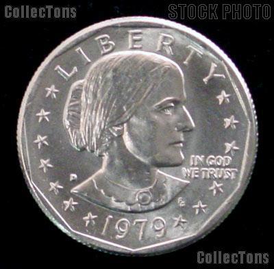 1979-D Susan B Anthony Dollar GEM BU 1979 SBA Dollar