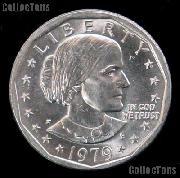 1979-P Susan B Anthony Dollar Wide Rim Near Date GEM BU 1979 SBA Dollar