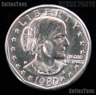 1980-D Susan B Anthony Dollar GEM BU 1980 SBA Dollar