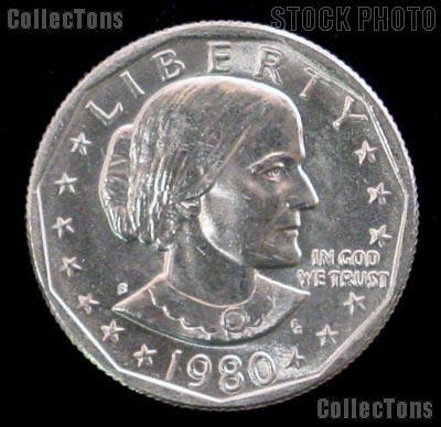 1980-S Susan B Anthony Dollar GEM BU 1980 SBA Dollar