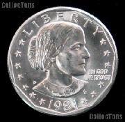 1981-D Susan B Anthony Dollar GEM BU 1981 SBA Dollar