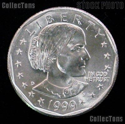 1999-D Susan B Anthony Dollar GEM BU 1999 SBA Dollar