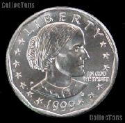 1999-P Susan B Anthony Dollar GEM BU 1999 SBA Dollar