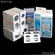 Coin Collecting Supplies - Cardboard Coin Holders