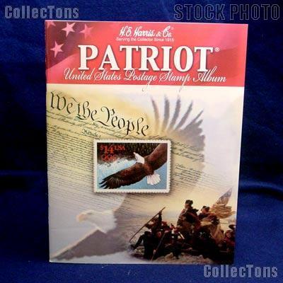 Harris patriot united states postage stamp album 1hrs27 7 19
