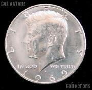 1969-D Kennedy Silver Half Dollar GEM BU 1969 Kennedy Half Dollar