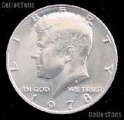 1978 Kennedy Half Dollar GEM BU 1978 Kennedy Half