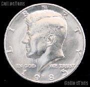 1985-P Kennedy Half Dollar GEM BU 1985 Kennedy Half