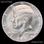 1986-D Kennedy Half Dollar GEM BU 1986 Kennedy Half