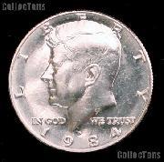 1984-D Kennedy Half Dollar GEM BU 1984 Kennedy Half
