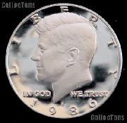 1986-S Kennedy Half Dollar * GEM Proof 1986-S Kennedy Proof