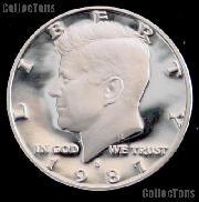 1987-S Kennedy Half Dollar * GEM Proof 1987-S Kennedy Proof