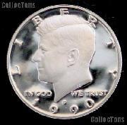 1990-S Kennedy Half Dollar * GEM Proof 1990-S Kennedy Proof