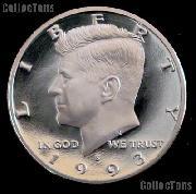 1993-S Kennedy Silver Half Dollar * GEM Proof 1993-S Kennedy Proof