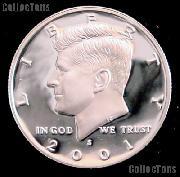 2001-S Kennedy Half Dollar * GEM Proof 2001-S Kennedy Proof