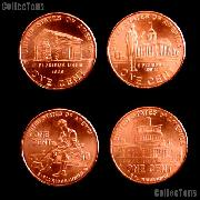 2009 Lincoln Bicentennial Cents - BU Lincoln Cents 2009
