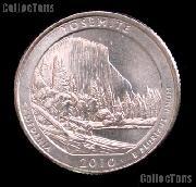 2010-P California Yosemite National Park Quarter GEM BU America the Beautiful