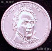 2010-P James Buchanan Presidential Dollar GEM BU 2010 Buchanan Dollar