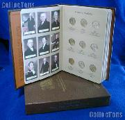 Presidential Coin Set 2007 to 2014 BU Presidential Dollar Set (32 Coins) in Album #7186