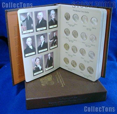 Presidential Coin Set 2007 to 2014 P & D BU Presidential Dollar Set (64 Coins) in Album #7184