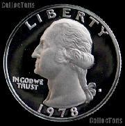 1978-S Washington Quarter PROOF Coin 1978 Quarter