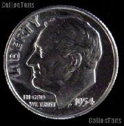 1954 Roosevelt Dime SILVER PROOF 1954 Dime Silver Coin