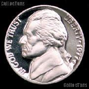 1977-S Jefferson Nickel PROOF Coin 1977 Proof Nickel Coin
