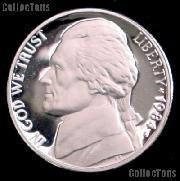 1984-S Jefferson Nickel PROOF Coin 1984 Proof Nickel Coin
