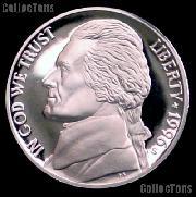 1996-S Jefferson Nickel PROOF Coin 1996 Proof Nickel Coin
