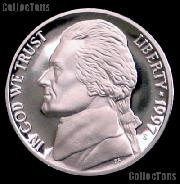 1997-S Jefferson Nickel PROOF Coin 1997 Proof Nickel Coin